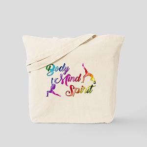BODY, MIND, SPIRIT Tote Bag