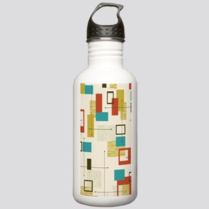 Fun Geometric, Mid Cen Stainless Water Bottle 1.0L