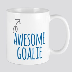 Awesome goalie Mugs