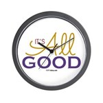 It's All Good Wall Clock