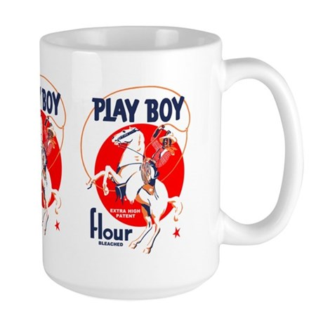 Play Boy Flour Large Mug