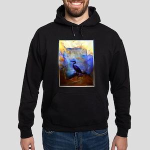 Beautiful great heron, wildlife art Sweatshirt