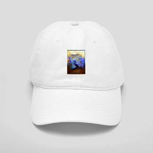 Beautiful great heron, wildlife art Baseball Cap