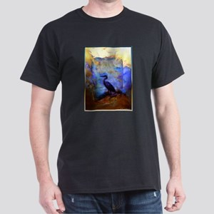 Beautiful great heron, wildlife art T-Shirt