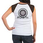 Hashtag #Darts Junior's Cap Sleeve T-Shirt