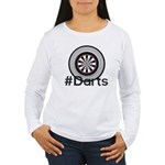 Hashtag #Darts Women's Long Sleeve T-Shirt