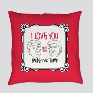 Trump Loves Trump Everyday Pillow