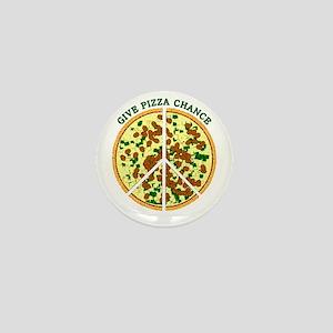 Give Pizza Chance Mini Button