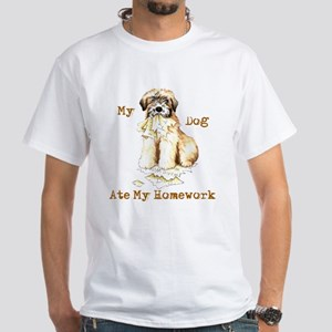 Wheaten Ate Homework T-Shirt