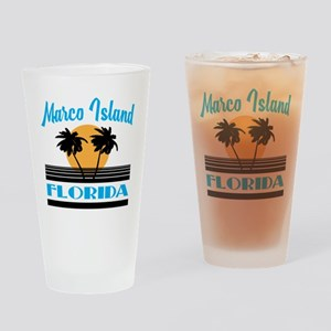 Marco Island Florida Drinking Glass