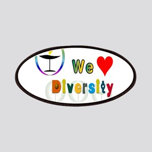 UU We Love Diversity Patch