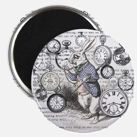 Cute Alice in wonderland rabbit Magnet