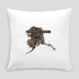 ALASKA RIG UP CAMO Everyday Pillow