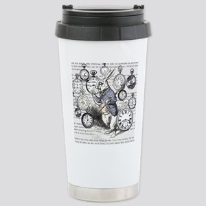 White Rabbit Watches Ti Stainless Steel Travel Mug