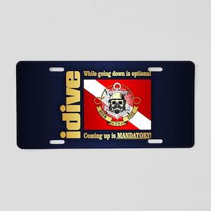 GDIO (BTD) Aluminum License Plate
