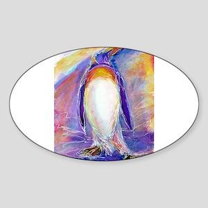 Penguin! Colorful, fun, nature art! Sticker