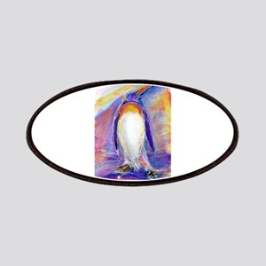 Penguin! Colorful, fun, nature art! Patch