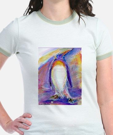 Penguin! Colorful, fun, nature art! T-Shirt