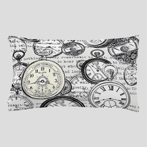 White Rabbit Watches Timepiece Alice Pillow Case