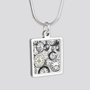 White Rabbit Watches Timepiece Alice Necklaces