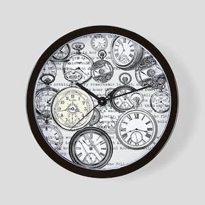 White Rabbit Watches Timepiece Alice Wall Clock