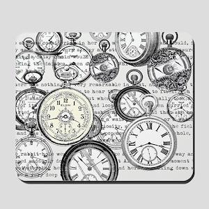 White Rabbit Watches Timepiece Alice Mousepad