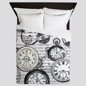 White Rabbit Watches Timepiece Alice Queen Duvet