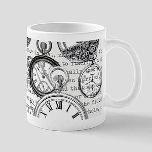 White Rabbit Watches Timepiece Alice Mugs