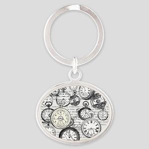 White Rabbit Watches Timepiece Alice Keychains