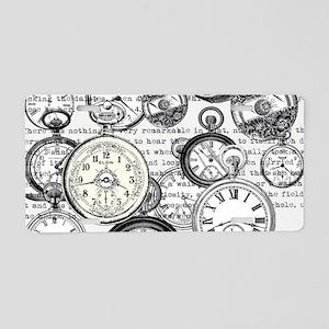 White Rabbit Watches Timepi Aluminum License Plate