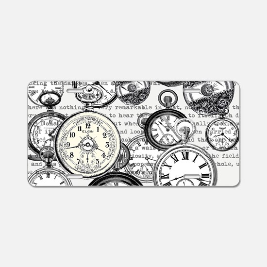 White Rabbit Watches Timepi Aluminum License Plate