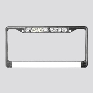 White Rabbit Watches Timepiece License Plate Frame