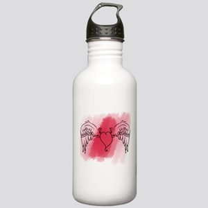 Winged Heart Stainless Water Bottle 1.0L