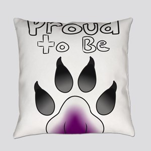 Proud To Be Asexual Furry Everyday Pillow