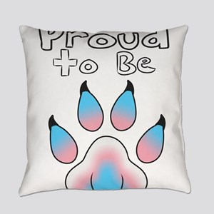 Proud To Be Transgender Furry Everyday Pillow