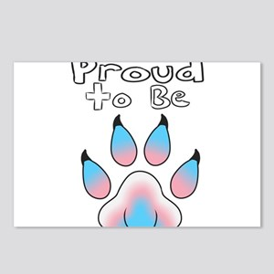 Proud To Be Transgender F Postcards (Package of 8)