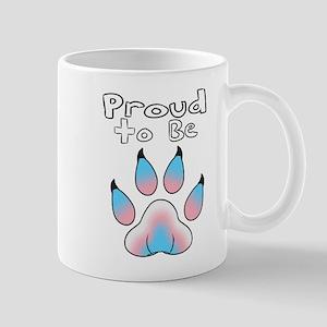 Proud To Be Transgender Furry Mugs