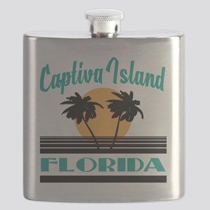 Captiva Island Florida Flask
