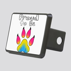 Proud To Be Pansexual Furr Rectangular Hitch Cover