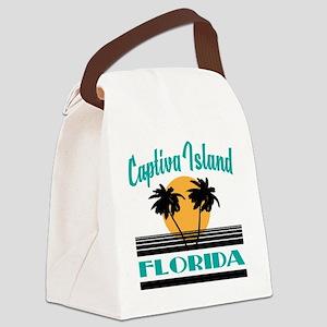 Captiva Island Florida Canvas Lunch Bag