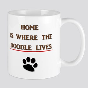 Home is Where the Doodle Lives Mugs