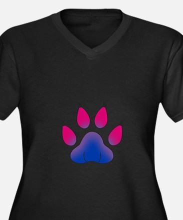 Proud To Be Bisexual Furry Plus Size T-Shirt