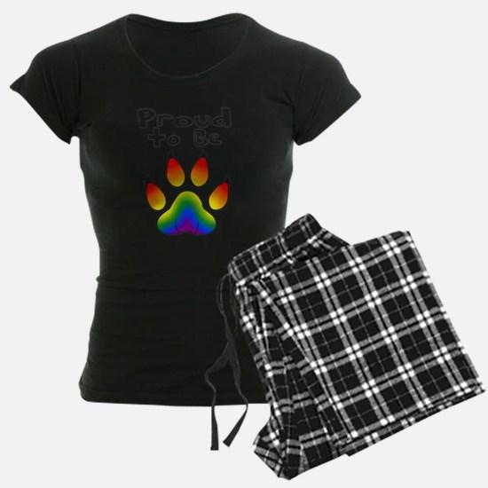 Proud To Be LGBT Furry Pajamas