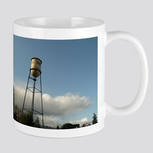 Campbell water tower in Campbell Mugs
