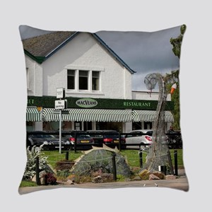 Nessie, Loch Ness monster, Scotlan Everyday Pillow