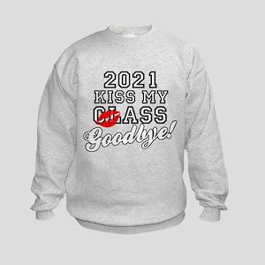 Kiss My Class Goodbye 2021 Kids Sweatshirt