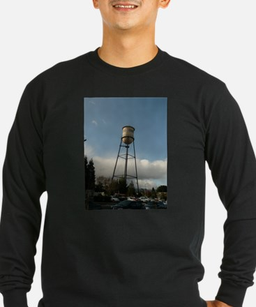 campbell water tower in Long Sleeve T-Shirt