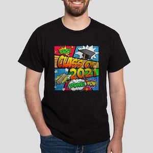 Class of 2021 Comic Book Dark T-Shirt