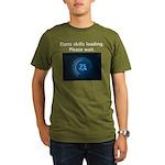 Darts Skills Loading Organic Men's T-Shirt (dark)