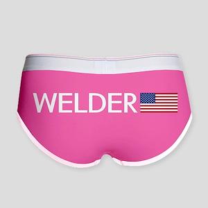 Welder: American Flag Women's Boy Brief